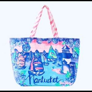 Lilly Pulitzer Destination Nantucket Beach Tote